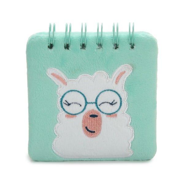 Llama Print Spiral Notepad
