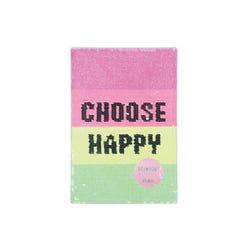 Rainbow - Choose Happy Sequin A5 Notebook