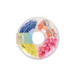 Rainbow Donut Box Clip