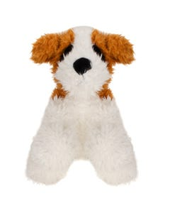 White Sitting Dog 25cm