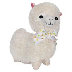 Llama Stuffed Plush Toy - Cream - 28 cm