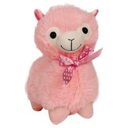 Llama Stuffed Plush Toy - Pink - 28 cm