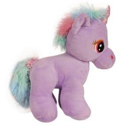 Purple Standing Unicorn 28cm