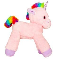 Lying Unicorn Plush - Pink - 53 cm