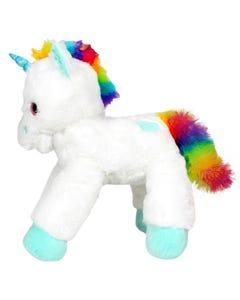 Lying Unicorn Plush - White - 53 cm