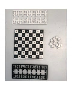 Youreka Mini Games Travel Chess + Draught