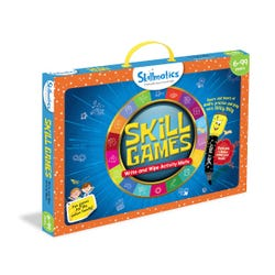 Skill Games - Erasable and Reusable Activity Mats