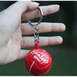 Hamleys Soccer Keychain Red Asst