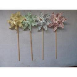 Kids Windmill - Coloured Polka