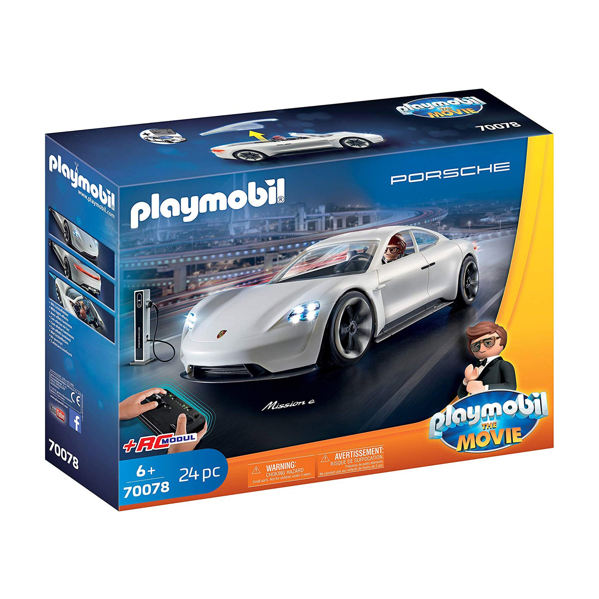 Playmobil 70078 Playmobil: THE MOVIE Rex Dashers Porsche Mi