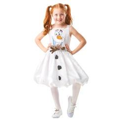 Frozen 2 Olaf Dress 5-6 years