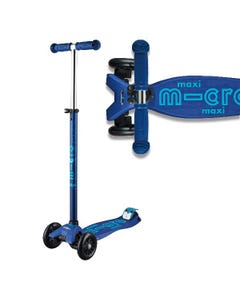 Micro Scooters - Maxi Micro Deluxe Scooter - Navy Blue