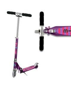 Micro Sprite Scooter - Stripe Purple