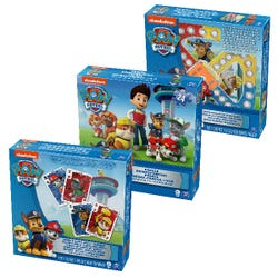 PAW Patrol: 3-Pack Bundle - Jumbo Cards, Popper Jr. Game, Jigsaw Puzzle