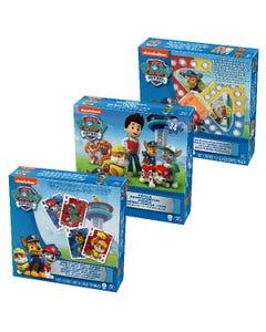 PAW Patrol: 3-Pack Bundle - Jumbo Cards, Popper Jr. Game, Jigsaw Puzzle