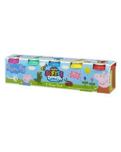 Peppa Pig 5 Tub Softee Dough Value Pack