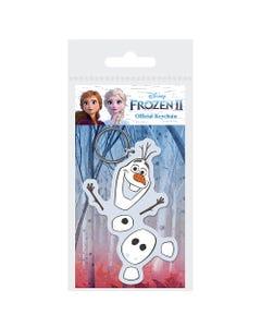 Frozen 2 (Olaf) Rubber Keychain