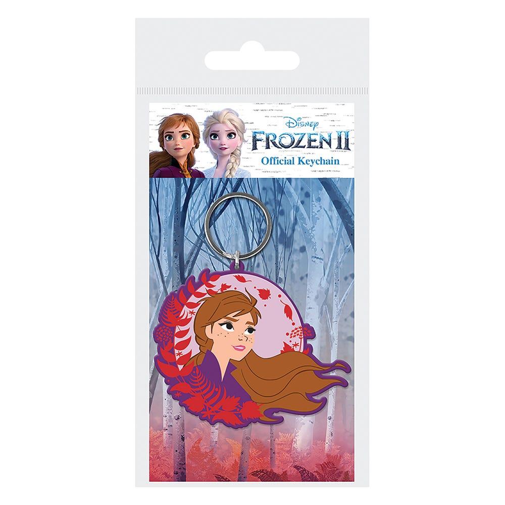 Frozen 2 (Anna) Rubber Keychain