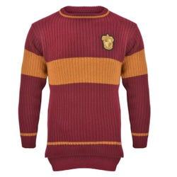 Harry Potter Gryffindor Quidditch Sweater - Age 5-6