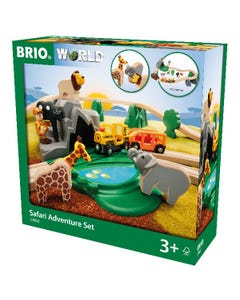 BRIO World - Safari Adventure Set