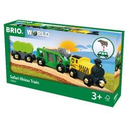 BRIO World - Safari Rhino Train