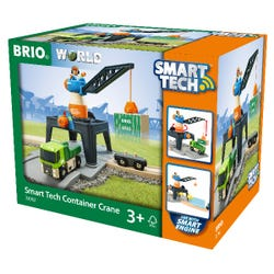 BRIO World: Smart Tech Railway - Container Crane