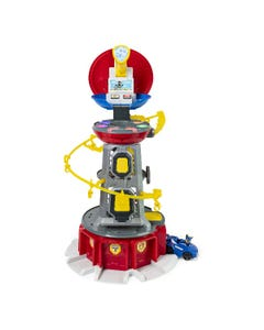 PAW Patrol: Mighty Pups Super PAWs Lookout Tower Playset with Lights and Sounds