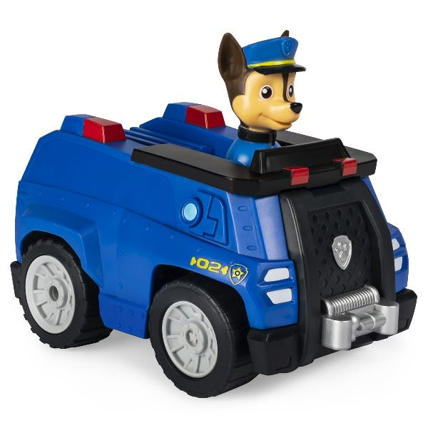 PAW Patrol: Chase Remote Control Police Cruiser With 2 Way Steering