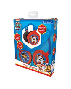 Paw Patrol Stereo Wired Foldable Headphone with Kids Safe Vo