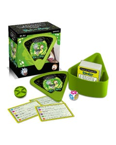 Rick & Morty Bite Size Trivial Pursuit Game