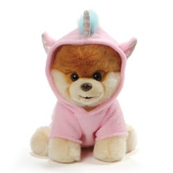 Boo Dog in Unicorn Costume Plush 9 inch