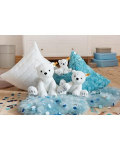 Steiff Soft Cuddly Friends Lasse Polar Bear (White) 646745