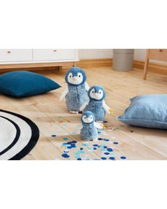 Steiff Soft Cuddly Friends Paule Penguin (Blue/White) 646810