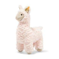 Steiff Pink Soft Cuddly Friends Lucia llama