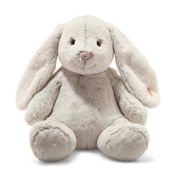 Steiff Soft Cuddly Friends Hoppie Rabbit (light grey)