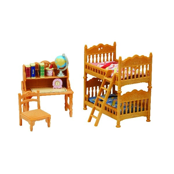 Sylvanian Families Childrens Bedroom Set