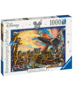 Ravensburger 19747 Disney Collector's Edition Lion King 1000 Piece Jigsaw Puzzle