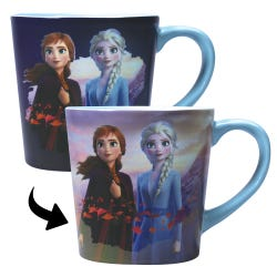 Mug Heat Changing (400ml) - Frozen 2 (Destiny)