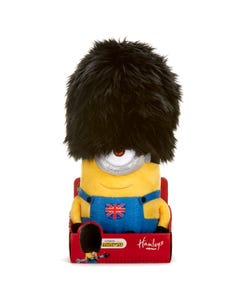 Minions Soft Toy In Guardsman Hat