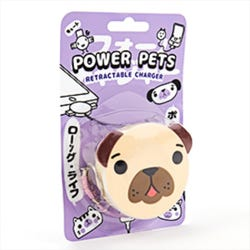 Pug Retractable charger