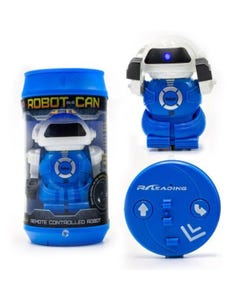 RED5 Robot in a Can Blue