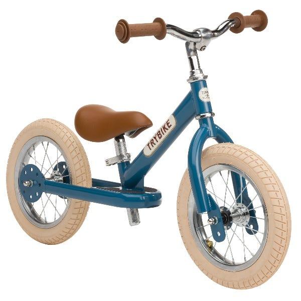 Trybike   Steel 2 In 1 Balance Trike / Bike Vintage Blue