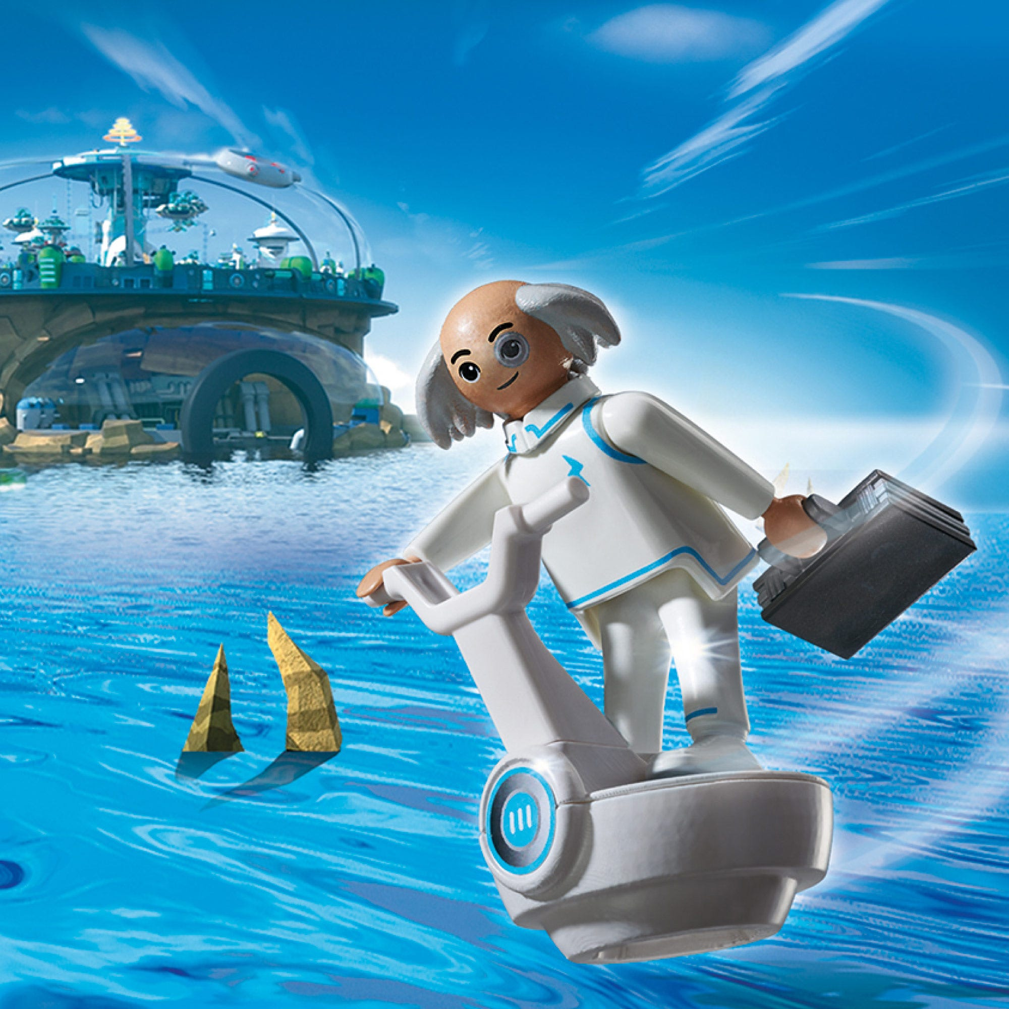 Playmobil Super 4 Dr.X 6690