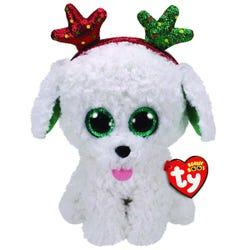 TY Sugar Dog Boo Med Xmas