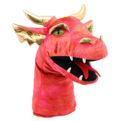 Large Dragon Head Red