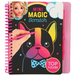 TOPModel Mini Magic-Scratch Book Asst