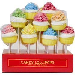 Cupcake Mallow Lolly