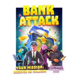 Bank Attack - Electronic Game