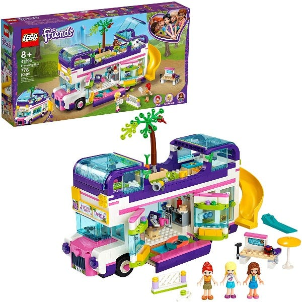 Lego Friends 41395 Friendship Bus