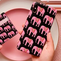Coconut Lane Pink Elephant Phone Case 6/7/8